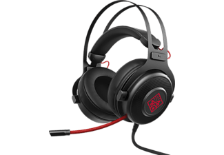 HP OMEN 800 - Gaming Headset (Schwarz/Rot)