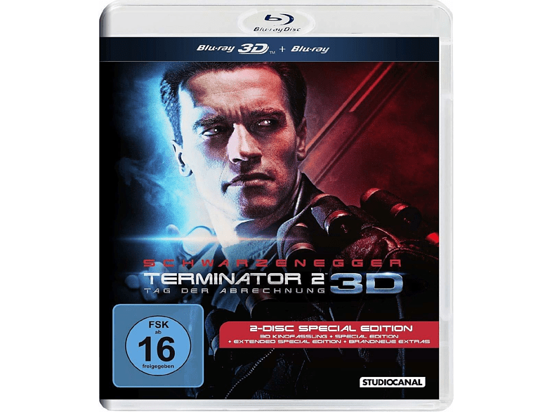 Terminator 2 - Judgment Day [3D Blu-ray]