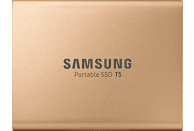 SAMSUNG Portable SSD T5, 500 GB SSD, 2,5 Zoll, extern, Rosegold