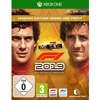XBO F1 2019 (LEGENDS EDITION) [Xbox One]
