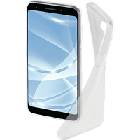 HAMA Crystal Clear Backcover Google Pixel 3a Thermoplastisches Polyurethan Transparent