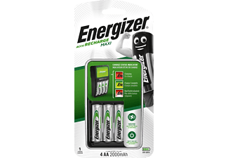 ENERGIZER ACCU recharge MAXI - Charger (Bianco/Nero)