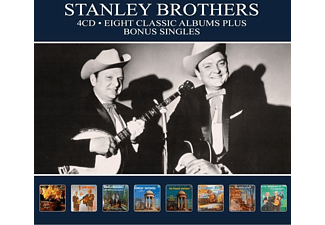 The Stanley Brothers - 8 Classic Albums - (CD)