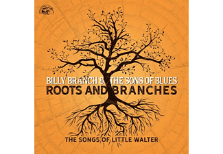 Billy Branch And The Sons Of Blues - Roots And Branches-The Songs Of Little Walter - (CD)