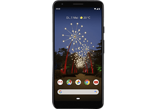 GOOGLE Pixel 3a XL, Smartphone, 64 GB, Just Black