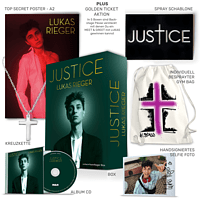 Lukas Rieger - Justice - Limited #TeamRieger Box [CD]