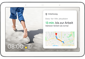 GOOGLE Nest Hub, Smart Display mit Sprachsteuerung, WLAN, Bluetooth