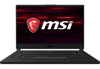 MSI GS65 9SF, Gaming Notebook mit 15.6 Zoll Display, Core™ i7 Prozessor, 16 GB RAM, 1 TB SSD, GeForce® RTX™ 2070, Schwarz