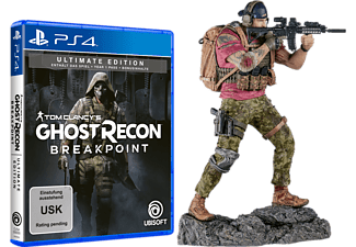 Tom Clancy's Ghost Recon: Breakpoint (Ultimate Edition) + Nomad Figur (ONLINE) [PlayStation 4]