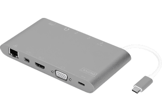 DIGITUS DA-70875 USB Type-C™, USB Docking Station