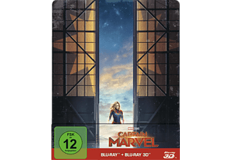 Captain Marvel Limited Steel-Book - (3D Blu-ray (+2D))