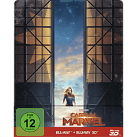 Captain Marvel (Limited Steelbook) [3D Blu-ray (+2D)]