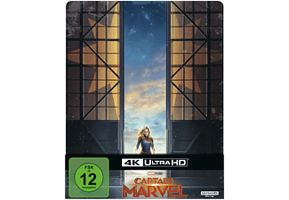 Captain Marvel Limited Steel-Book [4K Ultra HD Blu-ray + Blu-ray]