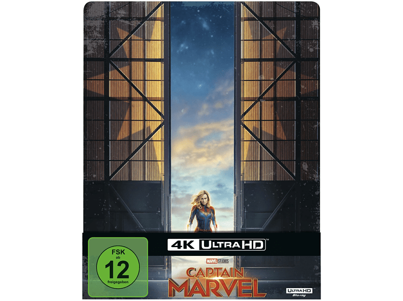 Captain Marvel Limited Steel-Book [4K Ultra HD Blu-ray]