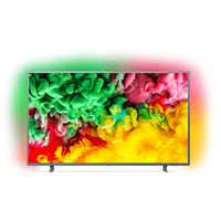 PHILIPS 55PUS6703/12 LED TV (Flat, 55 Zoll/139 cm, UHD 4K, SMART TV, Ambilight, SAPHI)