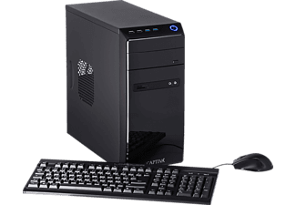 CAPTIVA R49-594, Gaming PC mit A8 Prozessor, 8 GB RAM, 240 GB SSD, 1 TB HDD, GeForce® GTX 1650, 4 GB