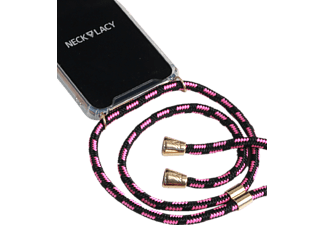 NECKLACY Necklace Case Pink Infusion Handyhülle, Huawei P30 Pro, Pink/Transparent