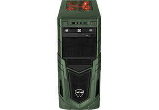 HYRICAN MILITARY GAMING 6365, Gaming PC mit Core™ i5 Prozessor, 16 GB RAM, 480 GB SSD, 1 TB HDD, Geforce® GTX 1660, 6 GB