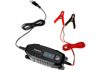 HAMA Automatische acculader 6V/12V/4A voor Auto/Boot/Motorfiets-accu (136686)