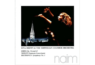 Iona Brown  & The Norwegian Chamber Orchestra - Grieg,Tippet,Beethoven - (CD)