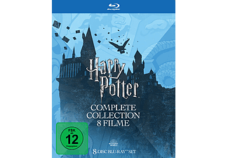 Harry Potter - Complete Collection Blu-ray (Tedesco)