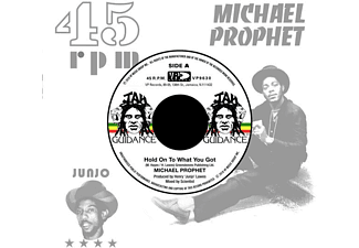 Michael Prophet, Roots Radics - HOLD ON TO WHAT YOU GOT/CRY OF THE WEREWOLF - (Vinyl)