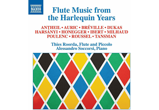 Alessandro Soccorsi, Thies Roorda - Flute Music from the Harlequin Years - (CD)