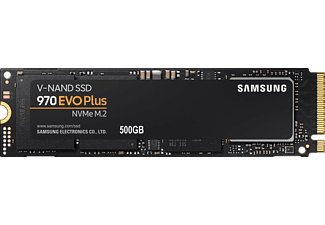 SAMSUNG 970 EVO Plus NVMe M.2, 500 GB SSD, intern