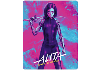 Alita: Battle Angel (+ Bonus) (4 Disks) - (4K Ultra HD Blu-ray + 3D Blu-ray + Blu-ray)