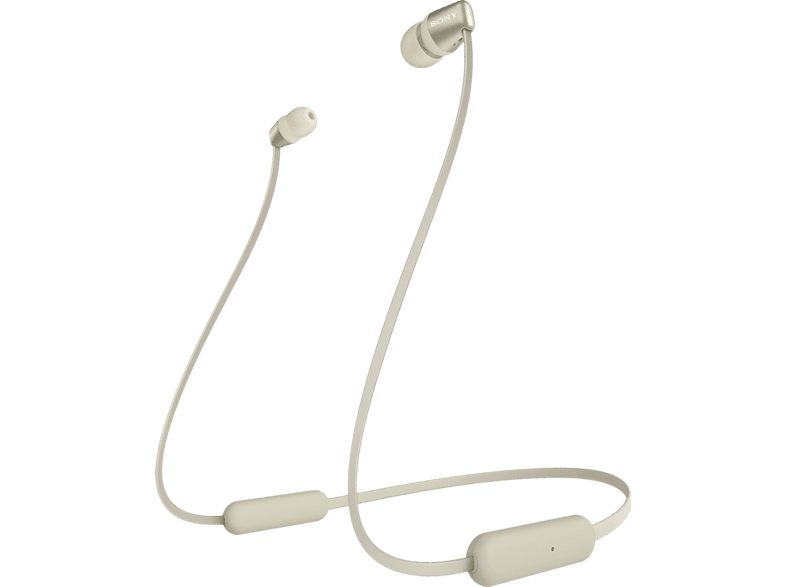 SONY WI-C 310, In-ear Kopfhörer Bluetooth Gold