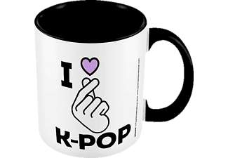 PYRAMID INTERNATIONAL I love K-Pop Tasse, Mehrfarbig