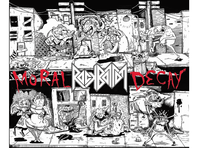 Rock Bottom - Moral Decay [Vinyl]
