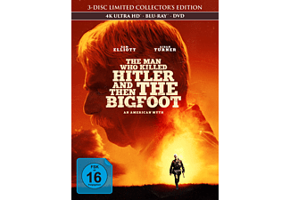 The Man Who Killed Hitler and then the Bigfoot - (4K Ultra HD Blu-ray + Blu-ray + DVD)