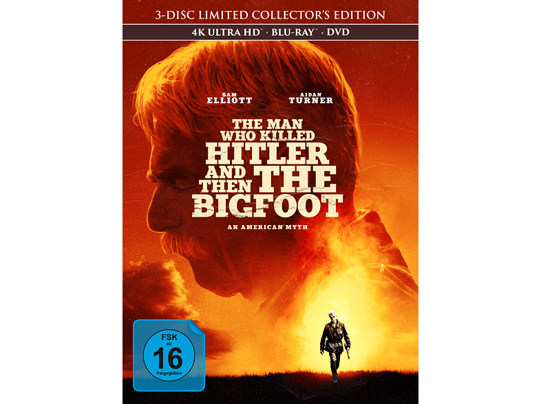The Man Who Killed Hitler and then the Bigfoot [4K Ultra HD Blu-ray + Blu-ray + DVD]