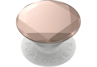 POPSOCKETS Houder en grip verwisserlbaar Metallic Diamond Rose Gold (800491)