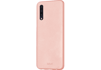 AZURI Cover Metallic soft touch Galaxy A50 Rose (AZCOVMETSAA505-PNK)