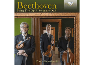 Trio Italiano D'archi - Beethoven:String Trio op.3,Serenade op.8 - (CD)