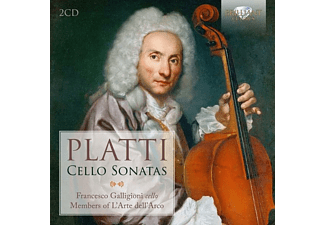 Francesco Galligioni - Platti:Cello Sonatas - (CD)