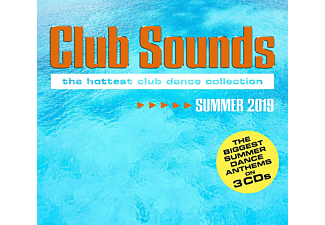VARIOUS - Club Sounds Summer 2019 - (CD)