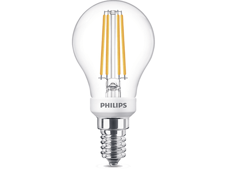 PHILIPS LED 5W (40W) P45 E14 WWD CL D SRT4