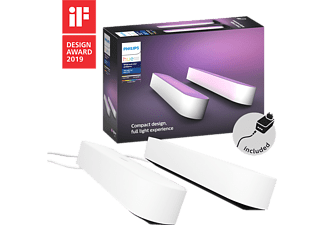 PHILIPS HUE Sfeerverlichting Hue Play 2-pack Wit (7820231P7)