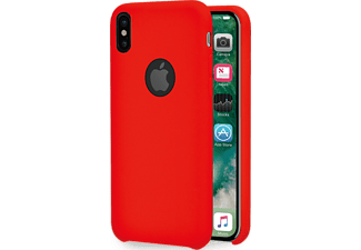 AZURI Cover iPhone X / Xs (AZCOVRUBIPHX-RED)