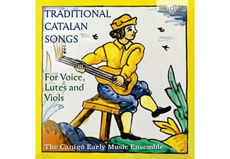 The Canigo Early Music Ensemble - Traditional Catalan Songs For Voice, Lutes And Viols CD