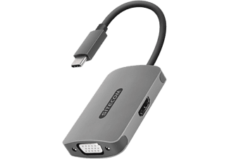 SITECOM Adapter USB-C / HDMI - VGA (CN-373)