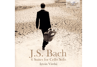 Istvan Vardai - J.S. Bach: 6 Suites For Cello Solo CD