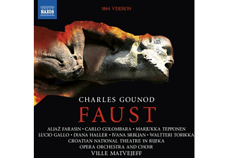 Matvejeff/Croatian National Theatre in Rijeka Oper - Charles Gounod: Faust - (CD)
