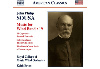 Keith/royal College Of Music Wind Orchestra Brion - Music for Wind Band,Vol.19 - (CD)