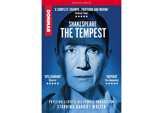 Shakespeare: The Tempest - (DVD)
