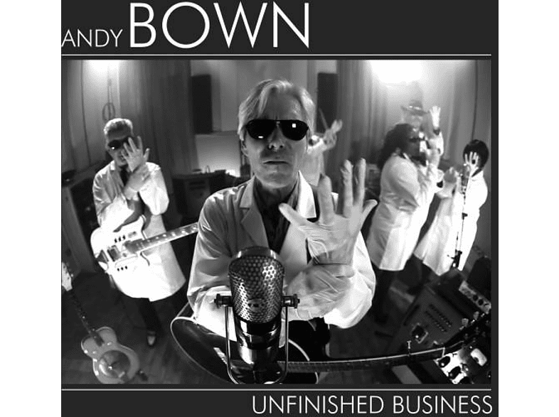Andy Bown - Unfinished Business [CD]