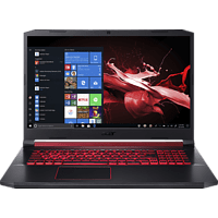 ACER Nitro 5 (AN517-51-7887), Gaming Notebook mit 17.3 Zoll Display, Core™ i7 Prozessor, 16 GB RAM, 512 GB SSD, 1 TB HDD, GeForce® GTX 1660 Ti, Schwarz/Rot
